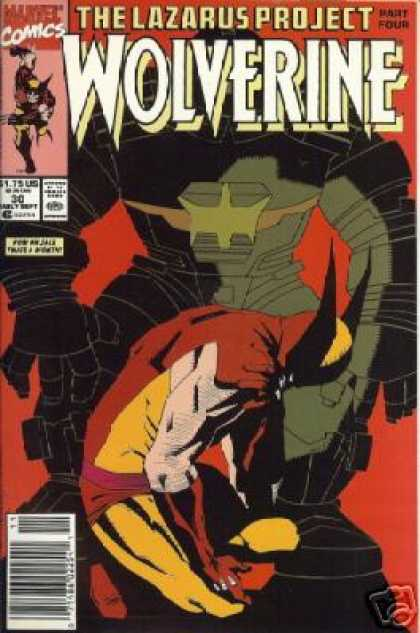 Wolverine 30 - Marvel - Red - Black - Superhero - Part Four - Mark Chiarello