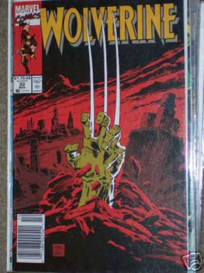 Wolverine 33 - Cutting Edge - Clean Lines - Nails Nails Nails - Fighting Nails - Long Nails - Marc Silvestri