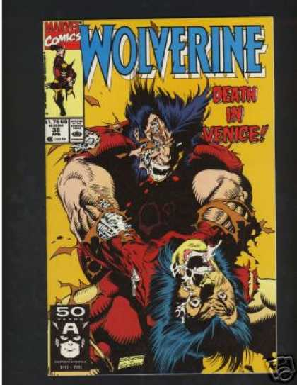 Wolverine 38 - Claws - Logan - Fighting Himself - Marvel Comics - Mutant - Marc Silvestri