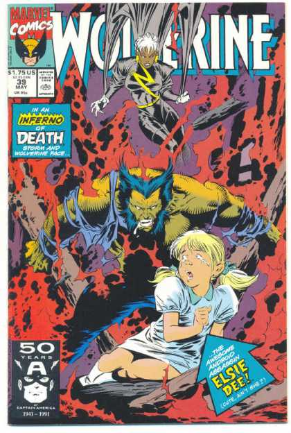 Wolverine 39 - Marvel - Inferno Of Death - Beast - May - X-men - Marc Silvestri