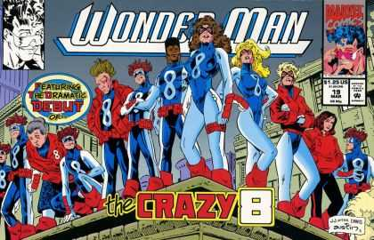 Wonder Man 19 - Crazy 8 - Dramatic Debut Of The Crazy 8 - Marvel Comics - Dramatic Debut - New Comic - Terry Austin