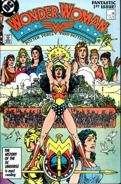 Wonder Woman (1987) 1 - George Perez