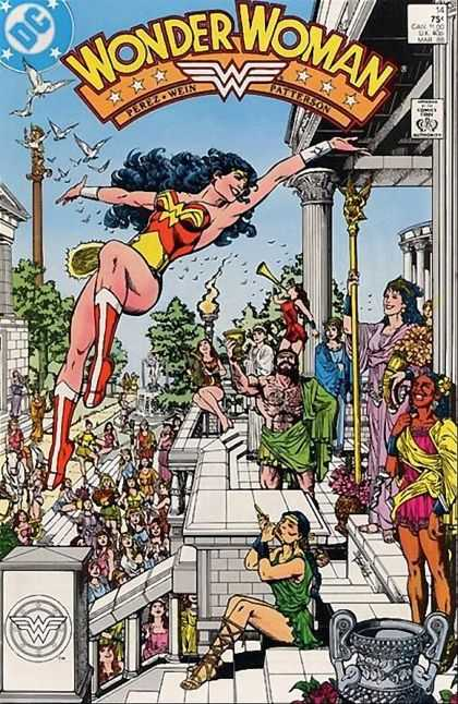 Wonder Woman (1987) 14 - Superhero - Costumes - Celebration - Dc Comics - Greek Dress - George Perez