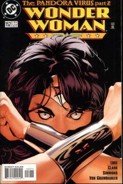 Wonder Woman (1987) 152 - Super Powers - Heroine - Comic Book Character - Tv Show - Linda Carter - Adam Hughes