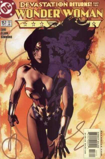 Wonder Woman (1987) 157 - Dc Comics - Devastation Returns - Like - Clarck - Simmons - Adam Hughes