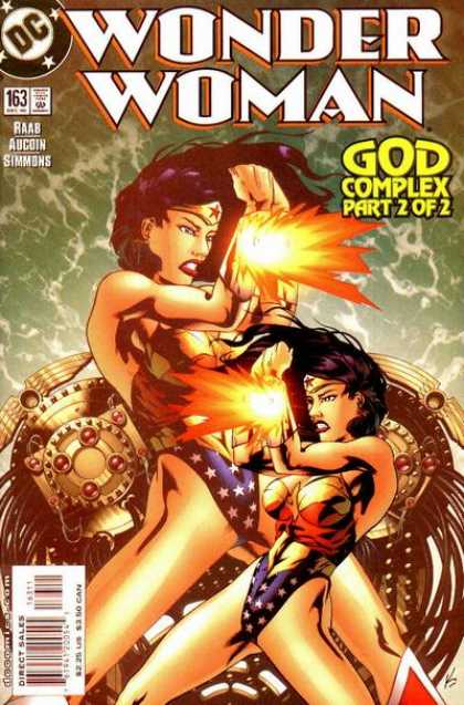 Wonder Woman (1987) 163 - Part 2 Of 2 - God Complex - Dc - 163 - Simmons