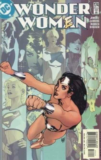 Wonder Woman (1987) 174 - 174 - Women - Flying - Wonder Women - Jimenez - Adam Hughes