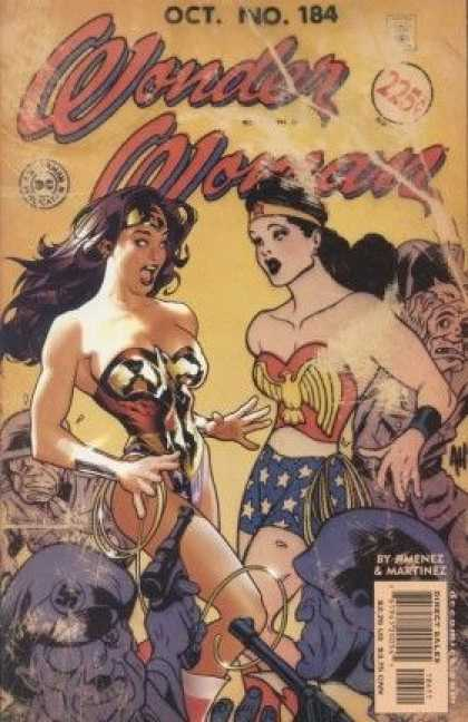 Wonder Woman (1987) 184 - Wonder Girls - Powerful Girls - Twines - Two Sisters - A Princess In Danger - Adam Hughes