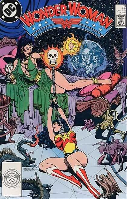 Wonder Woman (1987) 19 - Comics Code Authority - Skull - Chains - Slinky Dress - Woman - George Perez