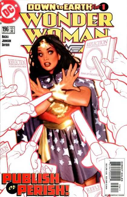 Wonder Woman (1987) 196 - Girl - Shock Emotion - Wonder Woman - Bracer - Beautiful Girl - Adam Hughes