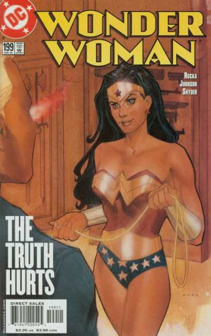 Wonder Woman (1987) 199 - Truth - The - Hurts - Direct Sales - Rocka Johnson Snyder - Phil Noto