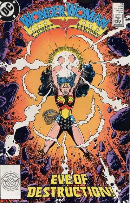 Wonder Woman (1987) 21 - Wonder Woman 21 - Perez - Eve Of Distruction - Dc Comics - Mcleod - George Perez