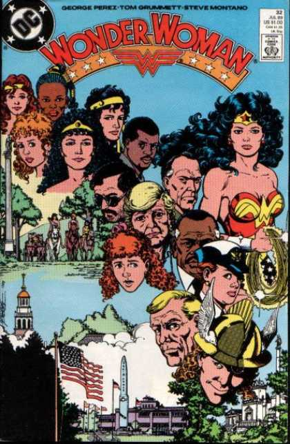 Wonder Woman (1987) 32 - 1987 - Dc Comics - Super Heros - George Perez - Tom Grummett - George Perez