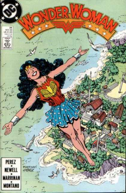 Wonder Woman (1987) 36 - George Perez