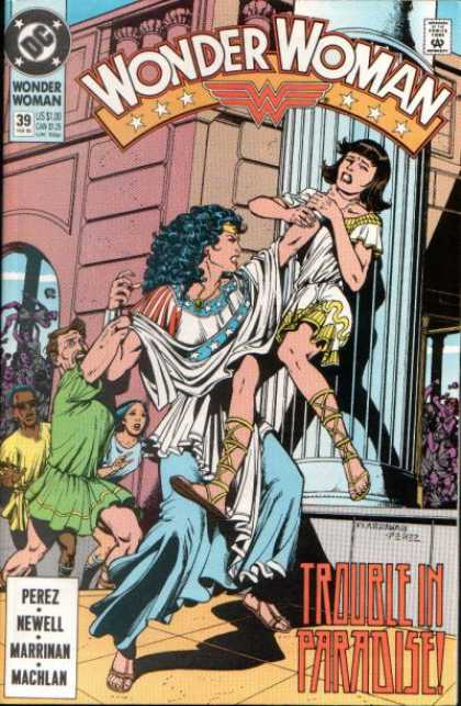 Wonder Woman (1987) 39 - George Perez
