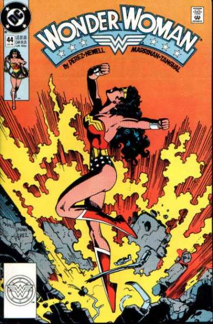 Wonder Woman (1987) 44 - George Perez