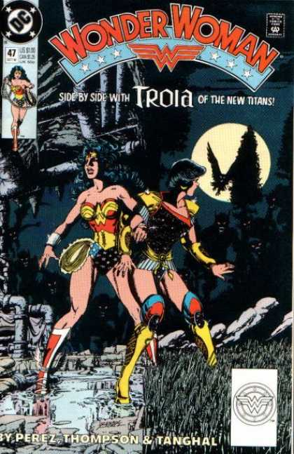 Wonder Woman (1987) 47 - Approved By The Comics Code - Superhero - Perez - Thompson - Tanghal - George Perez