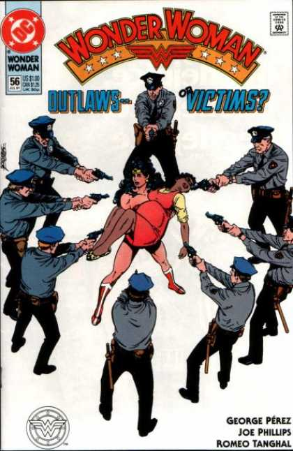 Wonder Woman (1987) 56 - Outlaws - Victims - Romeo Tanghal - Joe Phillips - George Perez - George Perez
