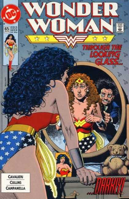 Wonder Woman (1987) 65 - Wonder Woman - Through The Looking Glass - Darkly - Dc Comics - Cavalieri - Brian Bolland