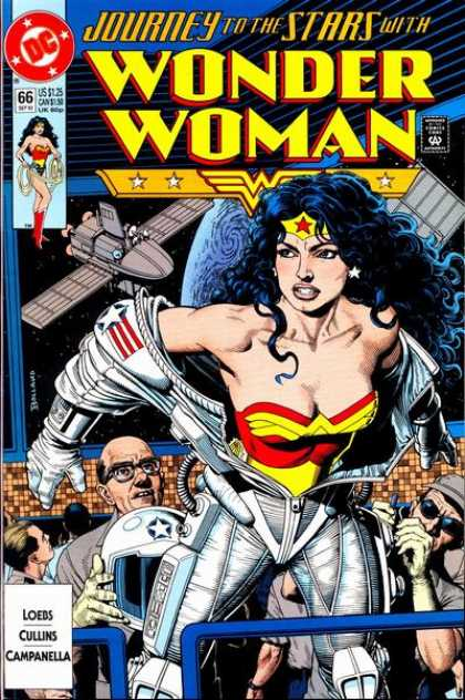 Wonder Woman (1987) 66 - Journey To The Stars - Dc - Loebs - Cullins - Campanella - Brian Bolland
