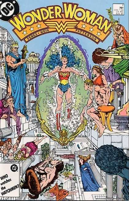 Wonder Woman (1987) 7 - George Perez
