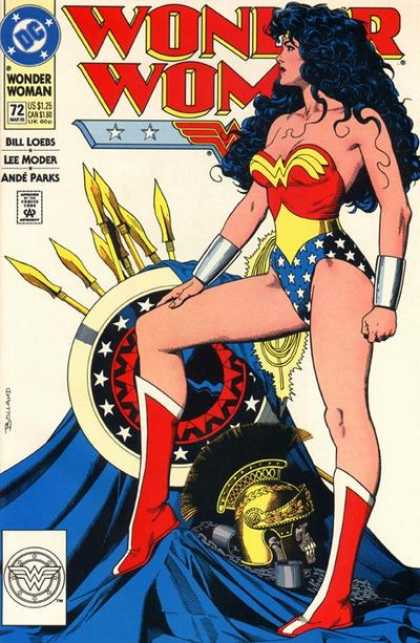 Wonder Woman (1987) 72 - Brian Bolland