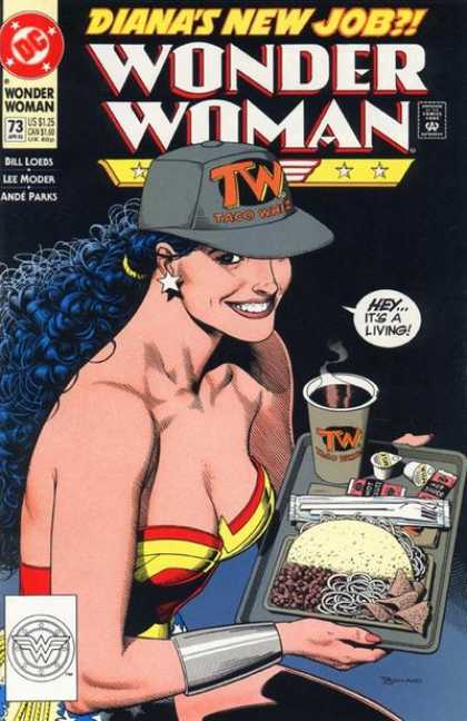 Wonder Woman (1987) 73 - Brian Bolland