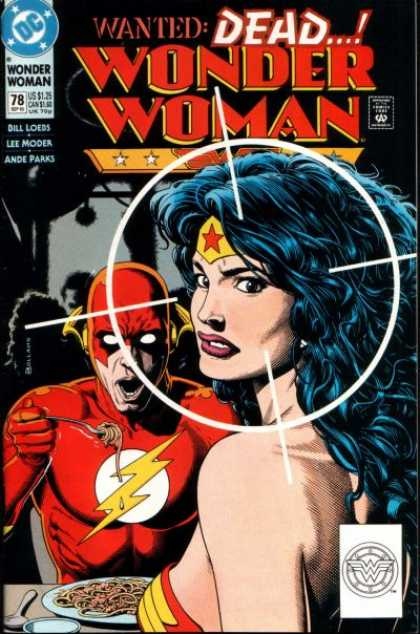 Wonder Woman (1987) 78 - Wanted Dead - She Will Prevail - The Woman Will Find A Way - Flash Is Hungry - Ande Parks - Brian Bolland