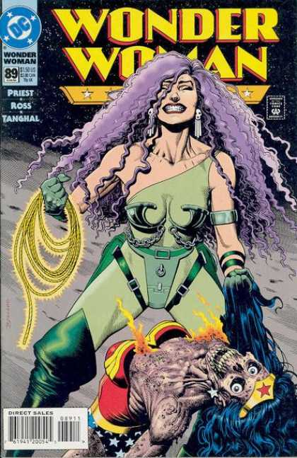 Wonder Woman (1987) 89 - Amazonians - Women - Death - Golden Lariat - Emotional - Brian Bolland