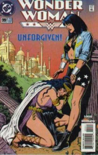 Wonder Woman (1987) 99 - Dc Comics - Unforgiven - Citadel - Amazonian - Woman Crying - Brian Bolland