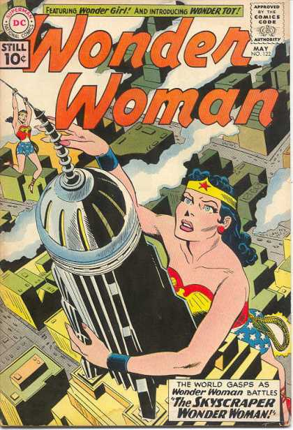 Wonder Woman 122 - Dc - Superman - National Comics - Approved By The Comics Code Authority - Wonder Girl - Ross Andru