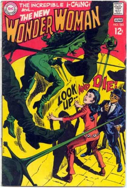 Wonder Woman 182 - The Incredible I-chung - Look Upand Die - Woman - Man - Costumes - Dick Giordano