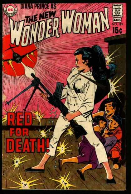 Wonder Woman 189 - Dc - Dc Comics - Diana Prince - Red For Death - China - Dick Giordano