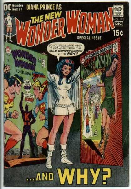 Wonder Woman 191 - Why - New - Superman - Diana Prince - Special Issue - Dick Giordano
