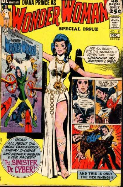 Wonder Woman 197 - Special Issue - Approved By The Comics Code - Poster - Gun - Dc Woman