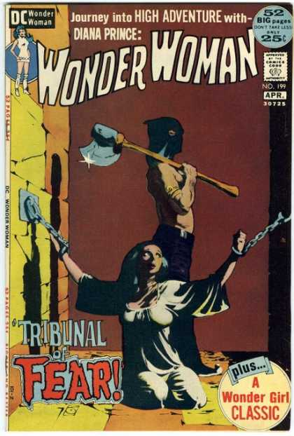 Wonder Woman 199 - Dc - 52 Big Pages - Classic - Executioner - Bound - Jeff Jones