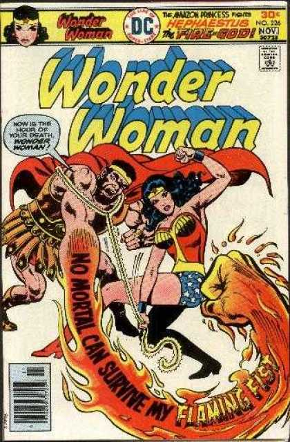 Wonder Woman 226 - Action Hero - Hephaestus - Strength - Beauty - Positive Female Role Model - Ernie Chan