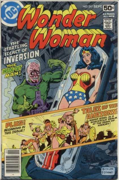 Wonder Woman 247 - Dick Giordano, Richard Buckler