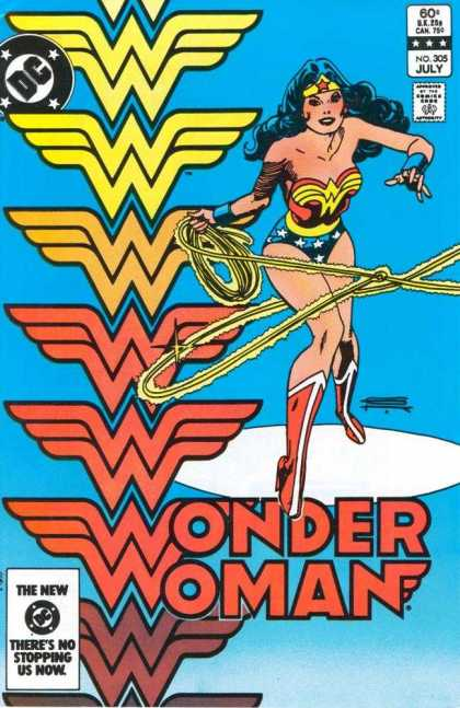Wonder Woman 305 - Approved By The Comics Code - Rope - Dc - The New - There Is No Stopping Us Now