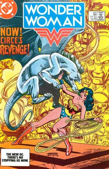 Wonder Woman 314 - Circes Revenge - Dc - No Stopping Us Now - Lasso - Rope