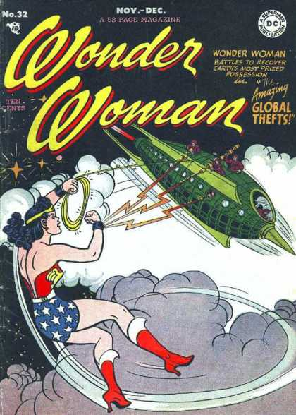 Wonder Woman 32 - Dc - Dc Comics - Battle - Global Thefts - Sky - Harry Peter