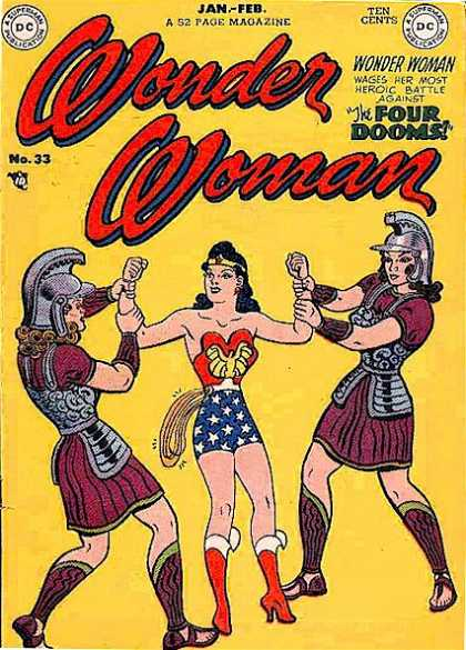 Wonder Woman 33 - 33 - The Four Dooms - Battle - Romans - Heroic