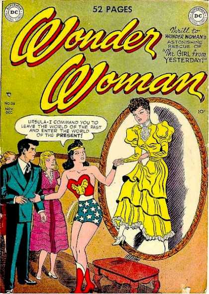 Wonder Woman 38 - Mirror - Women - Men - Shadow - Gowns - Harry Peter