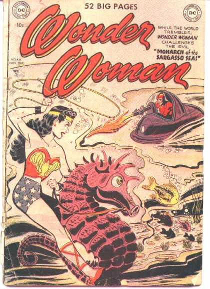 Wonder Woman 44 - Dc - Dc Comics - Monarch - Sargasso Sea - Sea Horse
