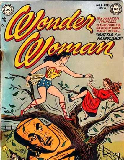 Wonder Woman 52 - Superman - Superhero - Woman - Tree - Amazon Princess