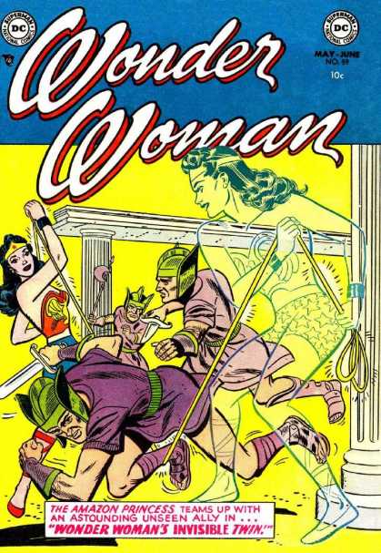 Wonder Woman 59 - Dc Comics - Silver Age - Heroines - Twins - Amazons