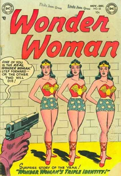 Wonder Woman 62 - Lady - Crown - Body - Gun