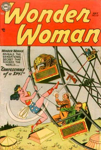 Wonder Woman 67 - Ferris Wheel - Confessions - Spy - Red - Kick