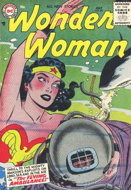 Wonder Woman 83 - Dare To See Me - The Flying Ambulance - Dare Dont Scare - Thriller - Adventures Of The Daring Lady