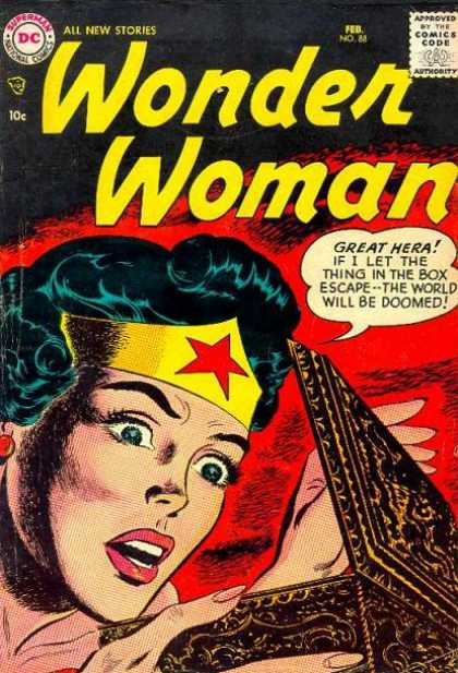Wonder Woman 88 - Superman - All New Stories - Comics Code - Box - Great Hera
